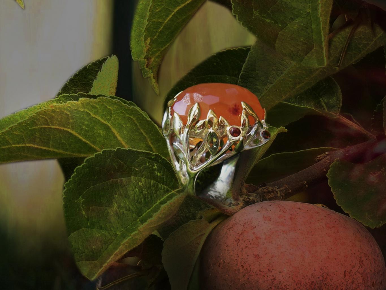 кольцо  Апельсиновое дерево