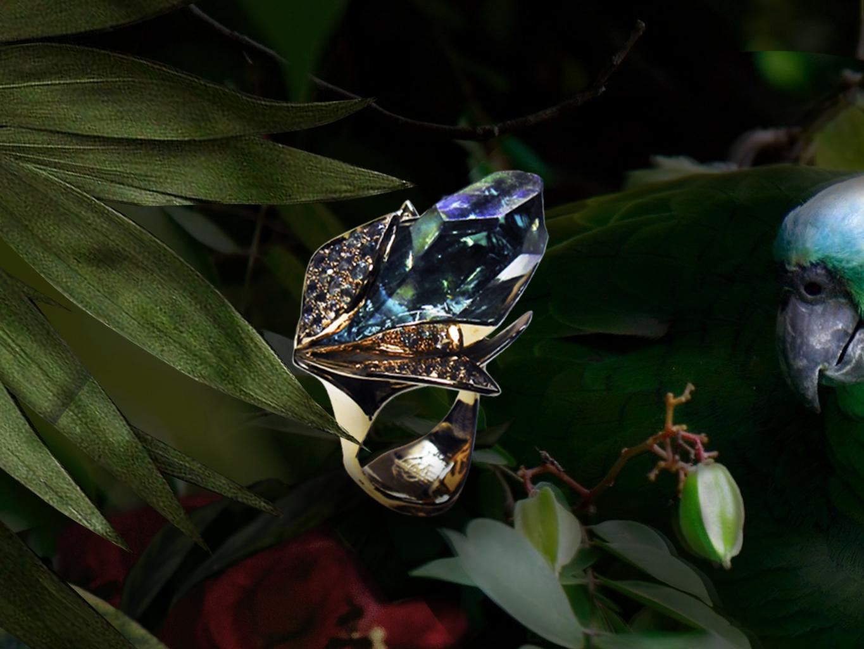 кольцо  Очаровывающе-ромовый эликсир
