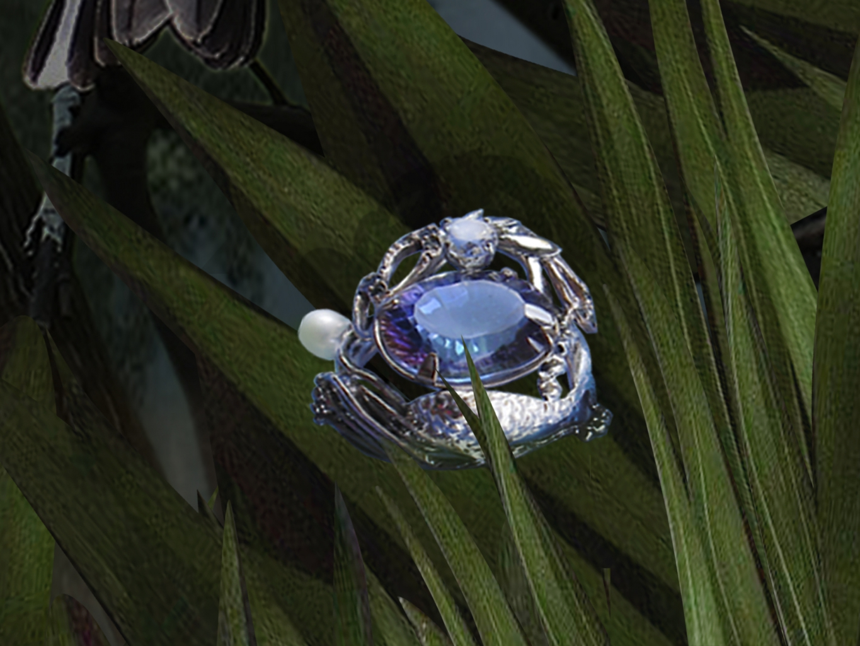 кольцо  Лунная ночь